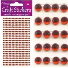 3mm Gems Red