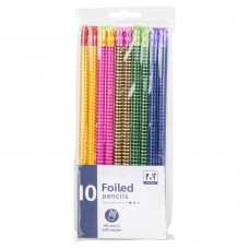 10 Foiled Pencils