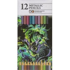 151 12 Metallic Artist Pencils