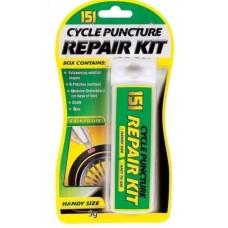 151 Cycle Puncture Repair Kit