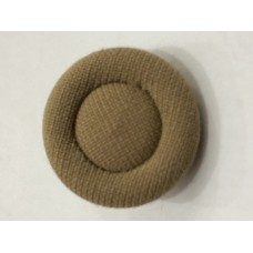Fabric Covered Brown 36L Button
