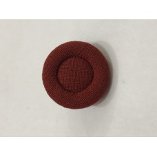 Fabric Covered Red 28L Button