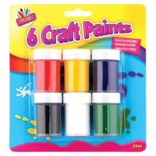 6 Craft Paints