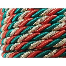 Christmas Twisted Cord 3mm
