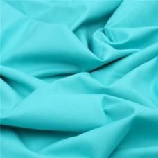 100% Cotton Fabric Aqua 1mtr