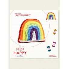 FREE CROCHET HAPPY RAINBOW IN HAPPY COTTON