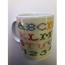 Cross Stitch Mug