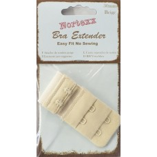 Bra Extender 2 hook 30mm Beige