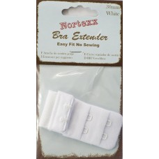 bra extender 3 hook 51mm In White