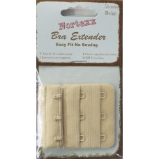 Bra Extender 3 hook 51mm Beige