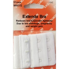 Bra Extender 3 hook 51mm White