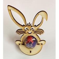 Laser Cut Bunny Egg Holder