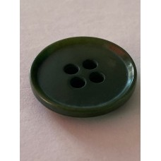 Button 4 Hole 32L 20mm Green