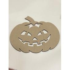 laser Cut Cardboard Pumpkin