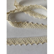 Cream Cotton Lace 15mm