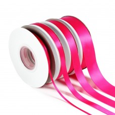 Dark Pink Double Satin Ribbon