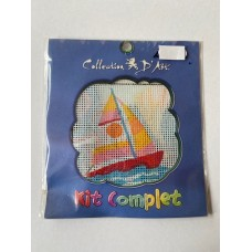 Collection D Art Cross Stitch Kit Sail Boat