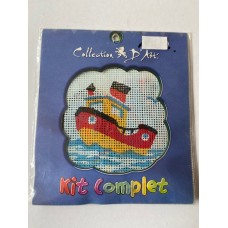 Collection D Art Cross Stitch Kit Tug