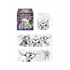 Colour your own Super Hero Mug