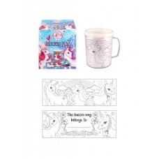 Colour your own Unicorn Mug