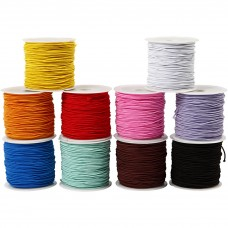 Elastic Round Coloured 2mm