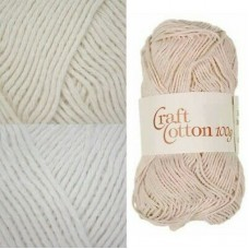 James C Brett Craft Cotton DK 100g