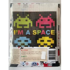 DMC Tapestry Starter Kit Space Invader