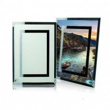 Glass Photo Panel Double mirror