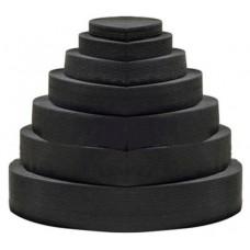 Elastic Flat Black