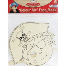 Colour Me Face Mask Pirate