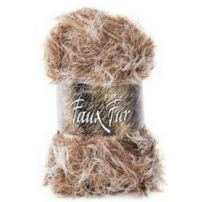 James C Brett Faux Fur Chunky 100g