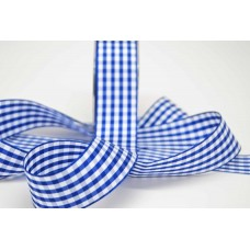 Gingham Ribbon Blue
