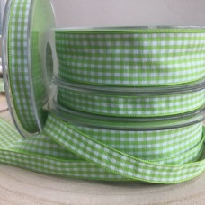 Gingham Ribbon Green