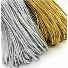 Elastic Round 3mm Gold / Silver