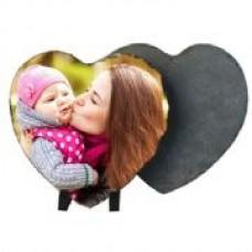 Heart Photo Slate
