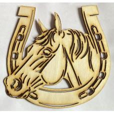 Laser Cut Horse Shoe 002