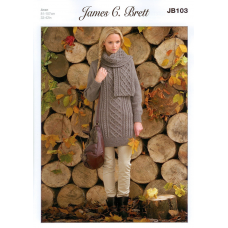 James C Brett JB103 Aran