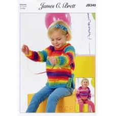 James C Brett JB340 Chunky