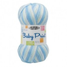King Cole Big Value Baby 4Ply Print 100g