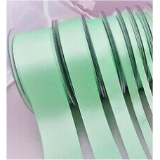 Mint Double Satin Ribbon