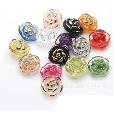 button  Rose 12mm