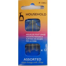Household Assorted Sewing Needles