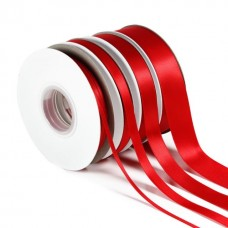 Red Double Satin Ribbon