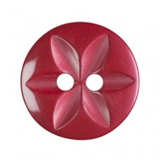 Button Star Red