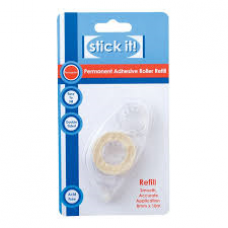 Stick It Permanent Adhesive Roller Refill