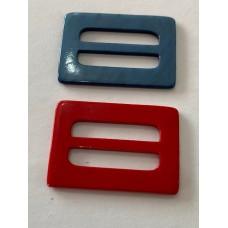 Strap Adjuster Slider Red/Blue