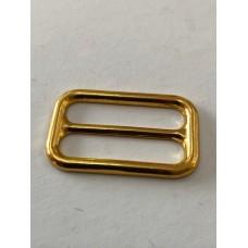 Strap Adjuster Slider Gold