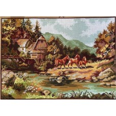 Printed Tapestry Canvas 12259