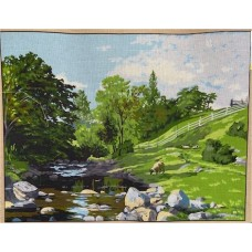 Printed Tapestry Canvas 2265