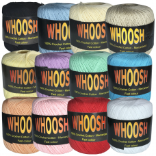 Whoosh Crochet Cotton